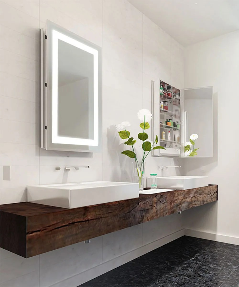 Mirror Lighting Bathroom Mirrored Cabinets | Electric Mirror, The Global Leader In