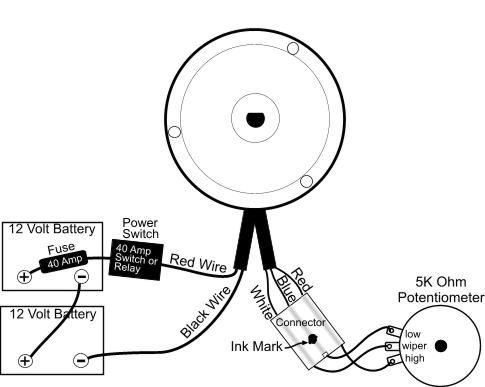 bike motor wiring diagram