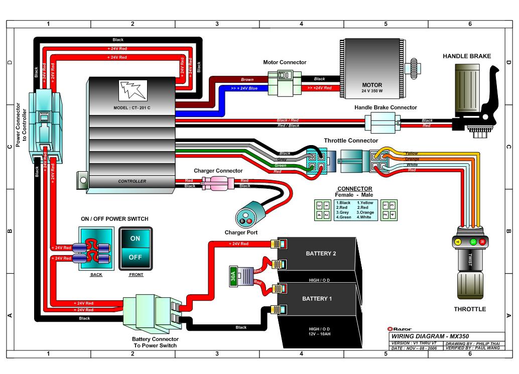 Motorcycle Wiring Diagram 24v Lights Wiring Schematic Diagram
