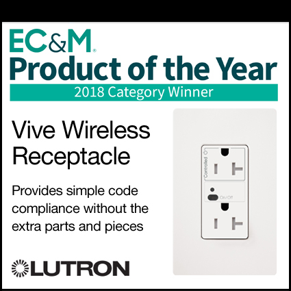 Selected Electrical Product Announcing Vive Wireless Receptacle