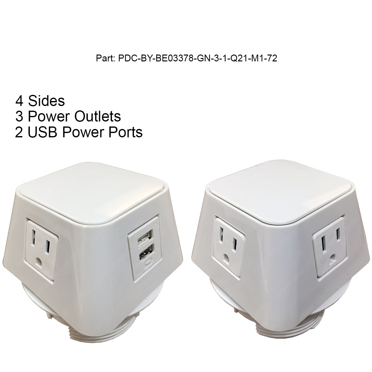 Contemporary Electrical Outlets The Cube Power Data Centers Usb Data