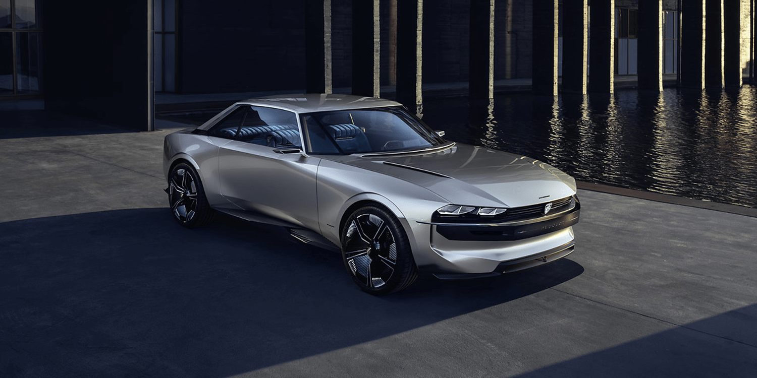 Coupe Peugeot Peugeot Launches Electric Homage To The 504 Coupé Electrive