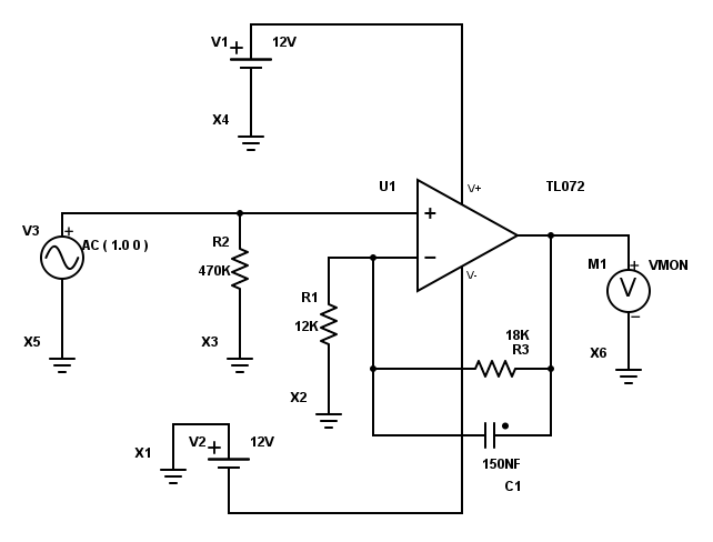 wiring layout on a mirage subwoofer