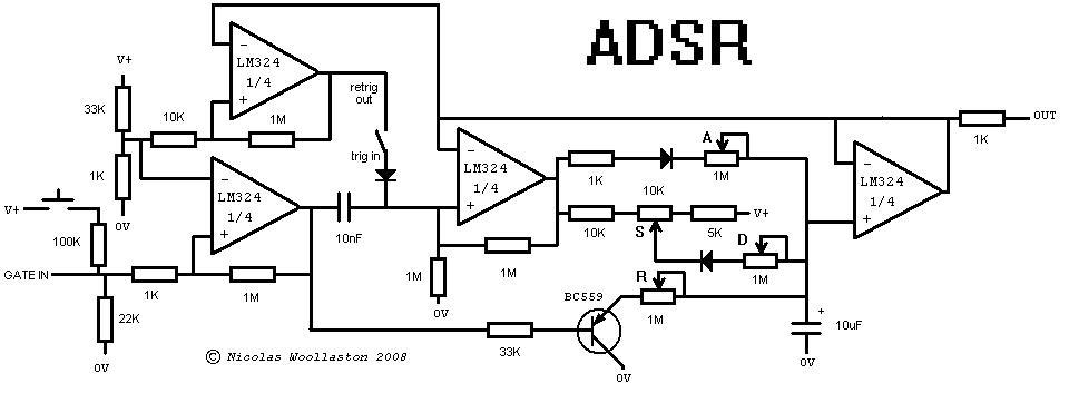 schematic envelope filter