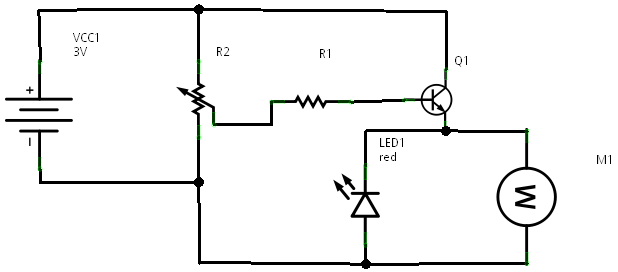 transistor current amplifier circuit