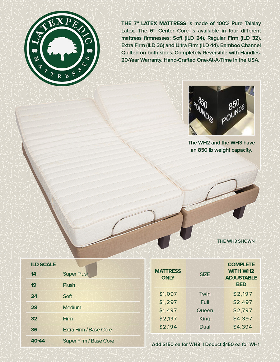 Adjustable Beds Electric 8q 7s 5d 3e Reverie Adjustable Beds