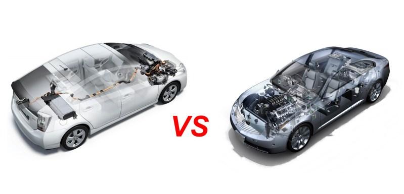 Comparativa coche eléctrico vs coche combustión. VE VS MCIA