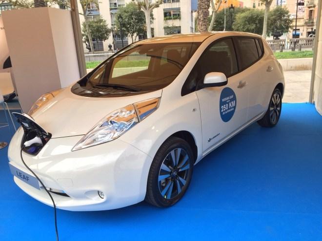 Nissan Expoelectric 2015 Barcelona, Nissan LEAF 2016