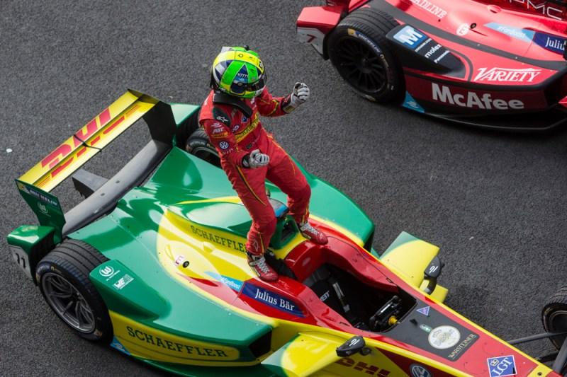 Lucas Di Grassi descalificado ePrix de Mexico por verificación de pesaje tras la carrera. Formula E en español cronica carrera mexico