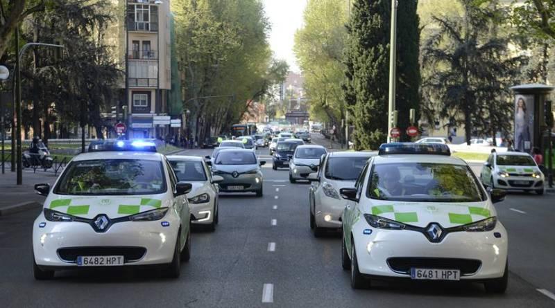 El Ayuntamiento de Madrid incorporará hasta 78 vehículos eléctricos. Dentro de 15 años los coches eléctricos dominarán las ciudades