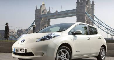 La visión de Nissan ante el reto de la movilidad sostenible. Nissan LEAF London Tower Bridge