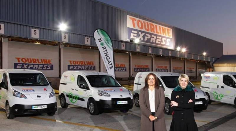 Tourline Express adquiere cinco Nissan e-NV200