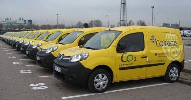CORREOS apuesta por vehículos eléctricos para la renovación de su flota