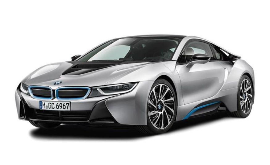 Tipos de coche eléctrico. BMW i8. Battery electric vehicle BEV, Plugin hybrid electric vehicle PHEV, Extended Range electric vehicle EREV.