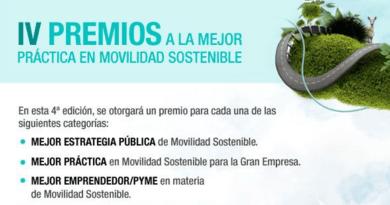 IV Premios a la Mejor Práctica en Movilidad Sostenible