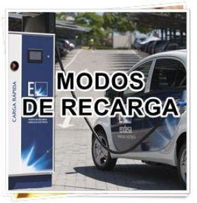 modos de recarga de un vehículo eléctrico