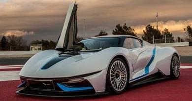 El super coche eléctrico de BAIC. electric super car by BAIC. Atieva supercar. Superdeportivo eléctrico desarrollado por BAIC. super coche eléctrico chino