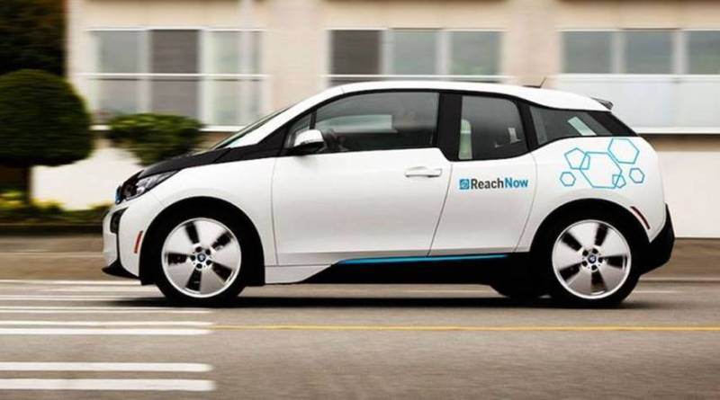 ReachNow, el carsharing de BMW llega a Seattle. BMW i3 ReachNow Seattle. Flota de carsharing BMW i3