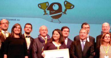Murcia recibe el Premio de la Semana Europea de la Movilidad 2015