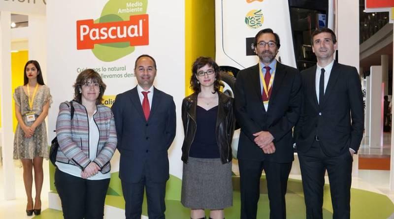 Reparto con vehículos eléctricos de Calidad Pascual en Cataluña