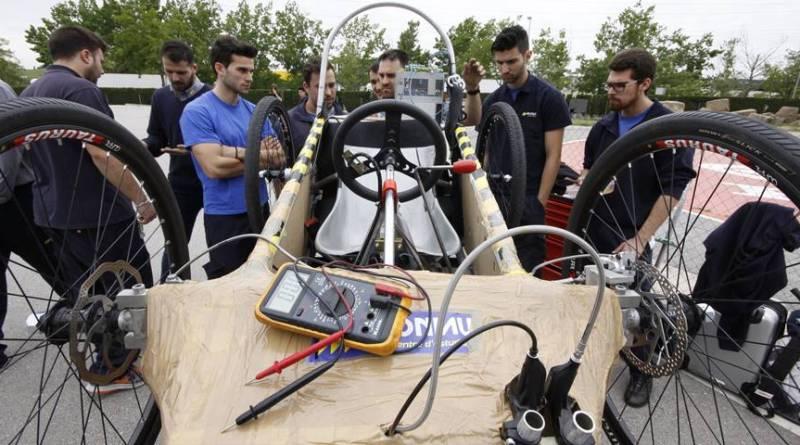 Campeonato ElectroCat, una carrera con vehículos eléctricos