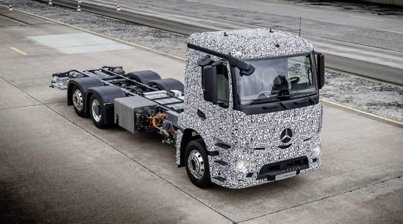 Mercedes Urban eTruck, el primer camión pesado eléctrico