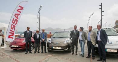 Llega a Las Palmas el Nissan Zero Emission Tour 2016