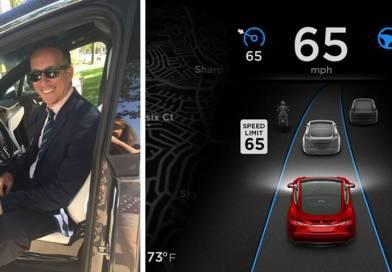 El Autopilot del Tesla Model X ayuda a un conductor a llegar al Hospital