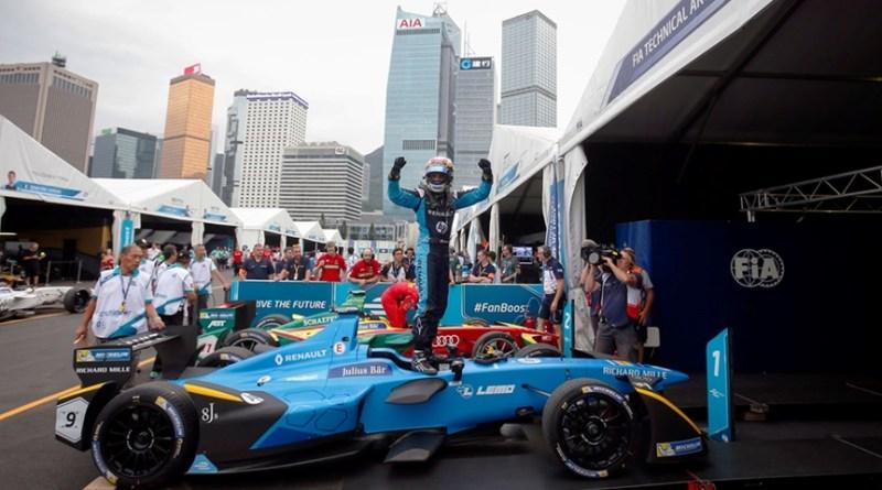 Buemi continua victorioso. Formula E Hong Kong ePrix