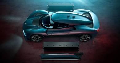 NIO EP9, el superdeportivo eléctrico de 1MW de potencia