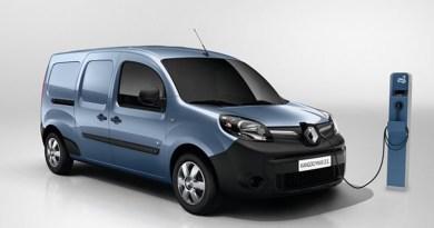 Renault Kangoo Z.E. 2017 con 200 km de autonomía
