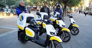 Jets amplía su flota con scooters eléctricos Scutum