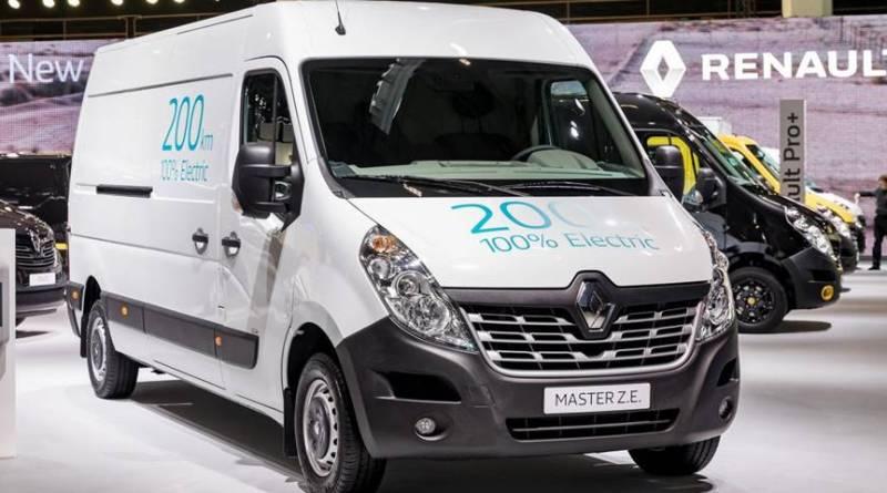 Renault Master Z.E. El nuevo furgón eléctrico con 200 km de autonomía