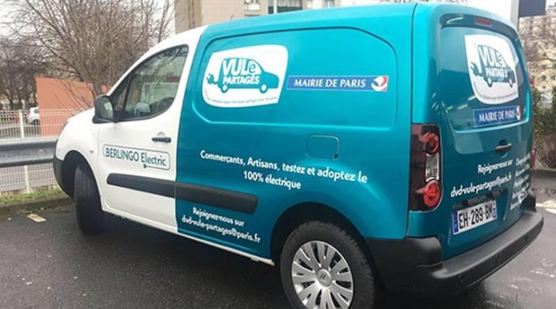 VULe Partagés, el carsharing para profesionales de París