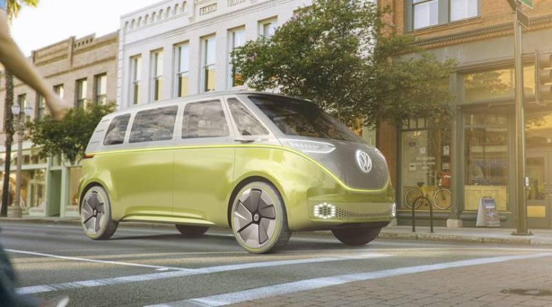 Volkswagen presenta el I.D. BUZZ en Detroit