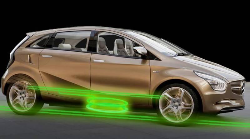 Autopistas inductivas que permiten la conducción autónoma