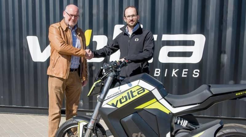 Segway España será el distribuidor de VOLTA Motorbikes