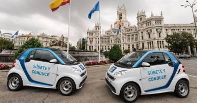 Los responsables de car2go hacen balance del año 2017. Car2go venderá sus emisiones de dióxido de carbono generadas en Madrid