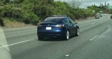 Nuevas imágenes y vídeo del Tesla Model 3 en movimiento