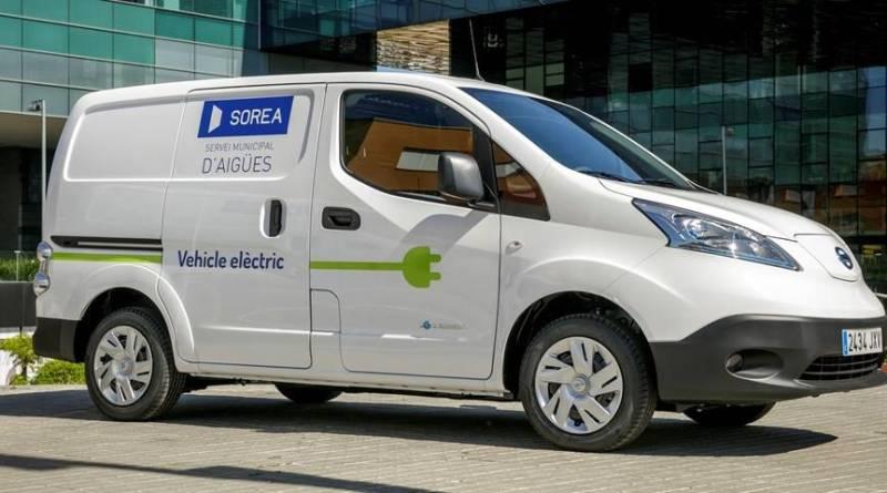 Sorea se hace con tres furgonetas eléctricas e-NV200