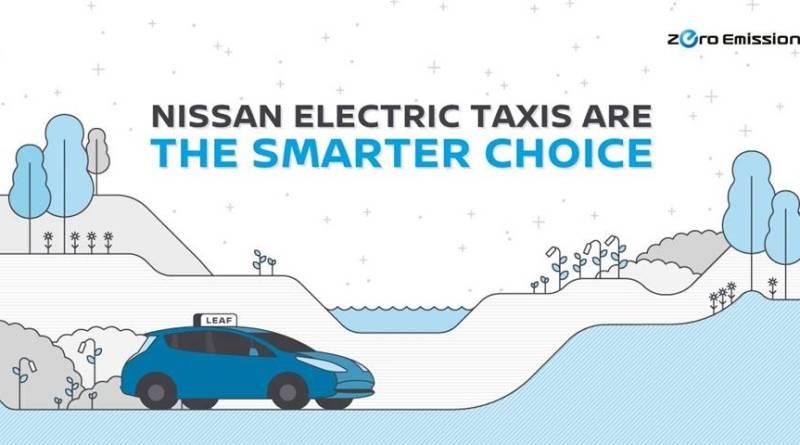 El Nissan LEAF se convierte en el taxi eléctrico mundial