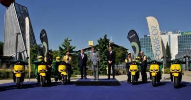 CORREOS incorpora doscientas nuevas motocicletas eléctricas de la marca Silence