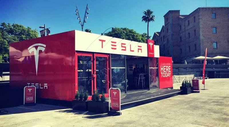 Tesla abre una Pop-up Store en Madrid. Primera tienda Tesla Motors en España
