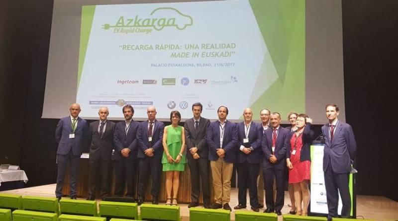 Proyecto Azkarga, recarga rápida en el País Vasco