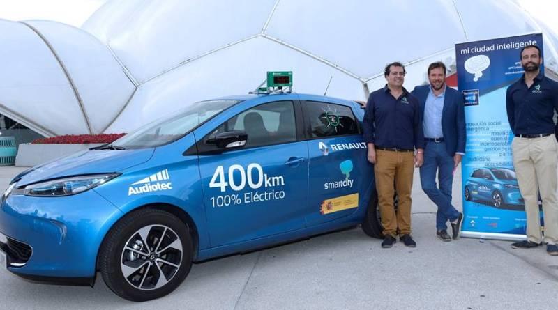 Mi Ciudad Inteligente y el Renault ZOE 40