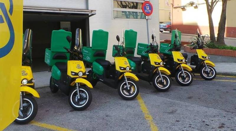 CORREOS ha incorporado seis motos eléctricas a su flota de Santander