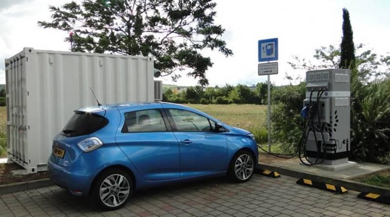 E-STOR: carga rápida de vehículos eléctricos en lugares remotos