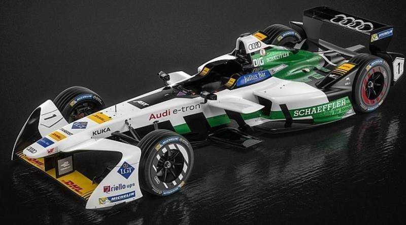 Audi presenta su monoplaza para la Formula E