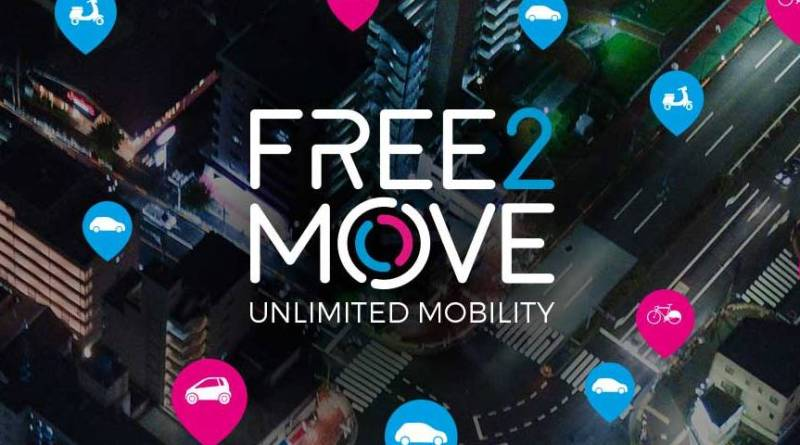 Free2Move, el agregador de transporte compartido