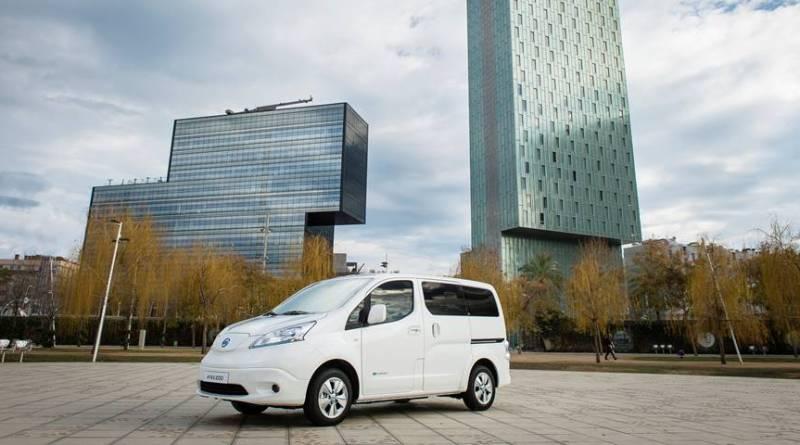Nueva Nissan e-NV200 2018 con 40kWh y 280 kilómetros de autonomía